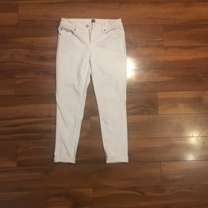 White true skinny jeans